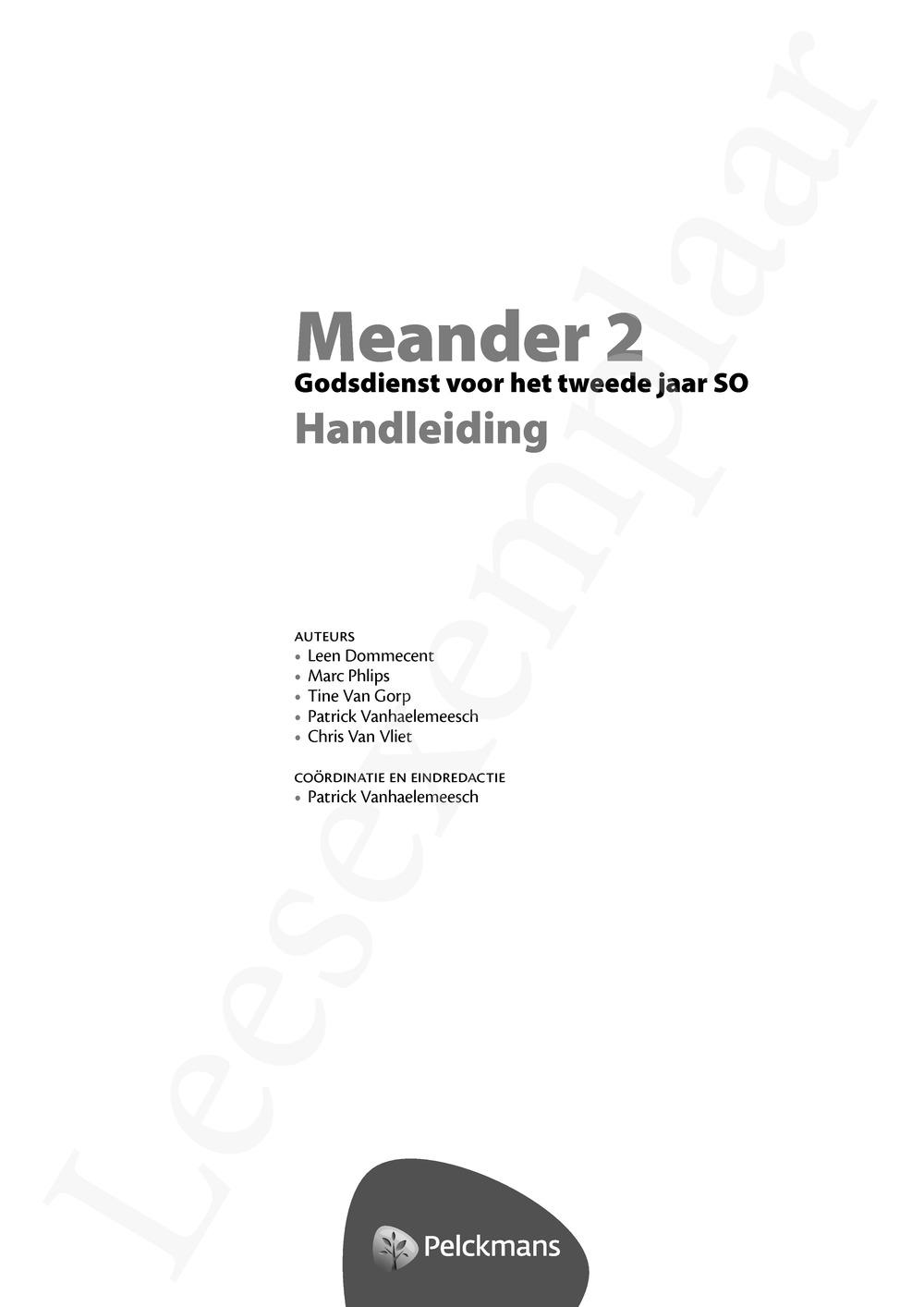 Preview: Meander 2 Handleiding