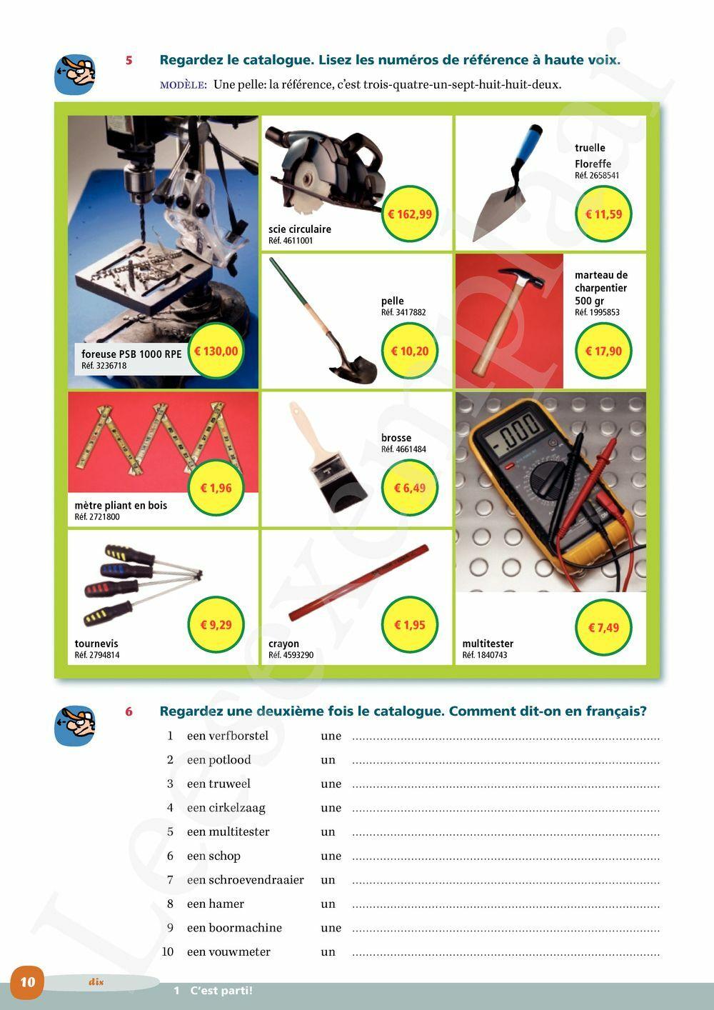 Preview: Profils Bois & Construction Vaktaalleerwerkboek