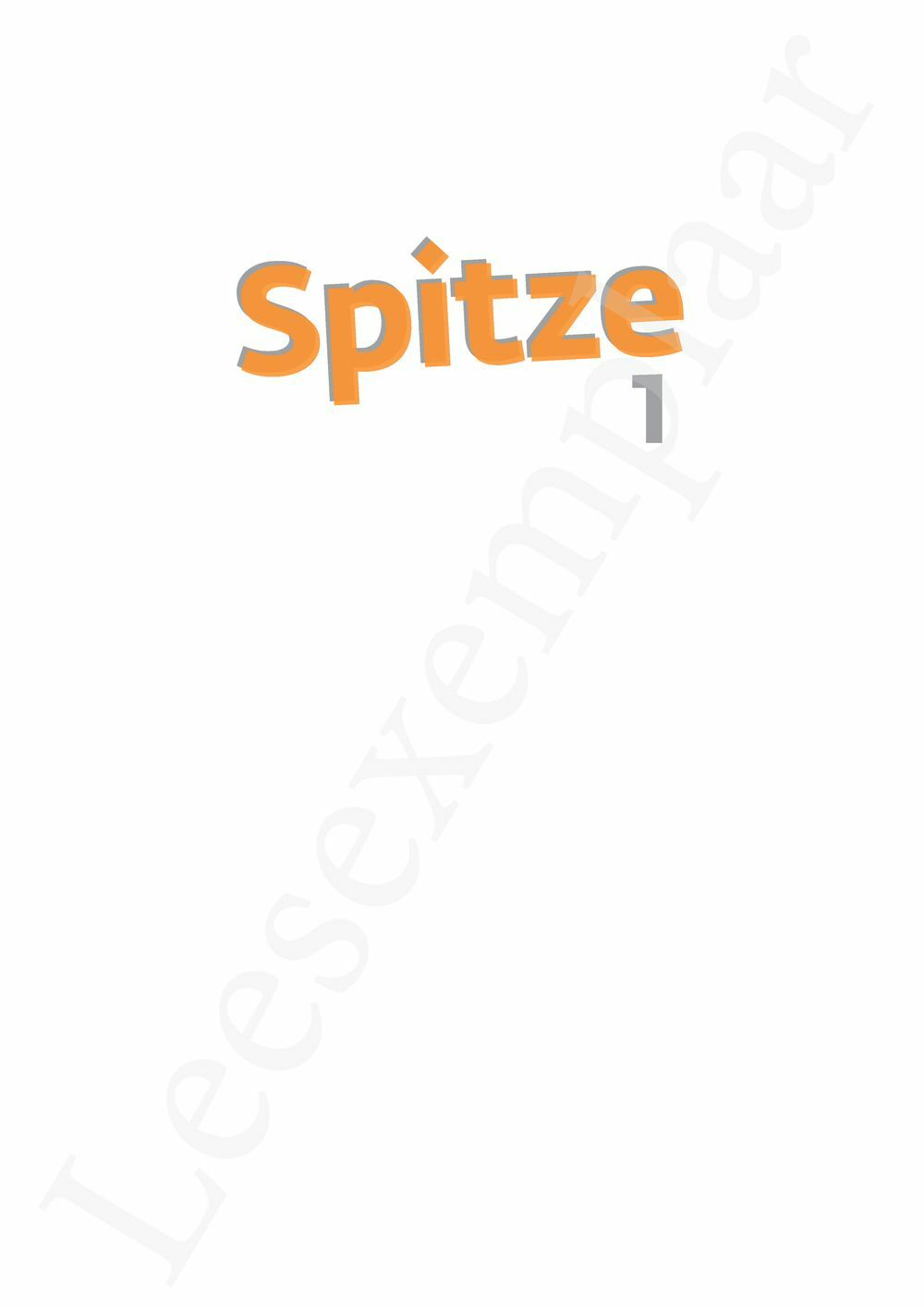 Preview: Spitze 1