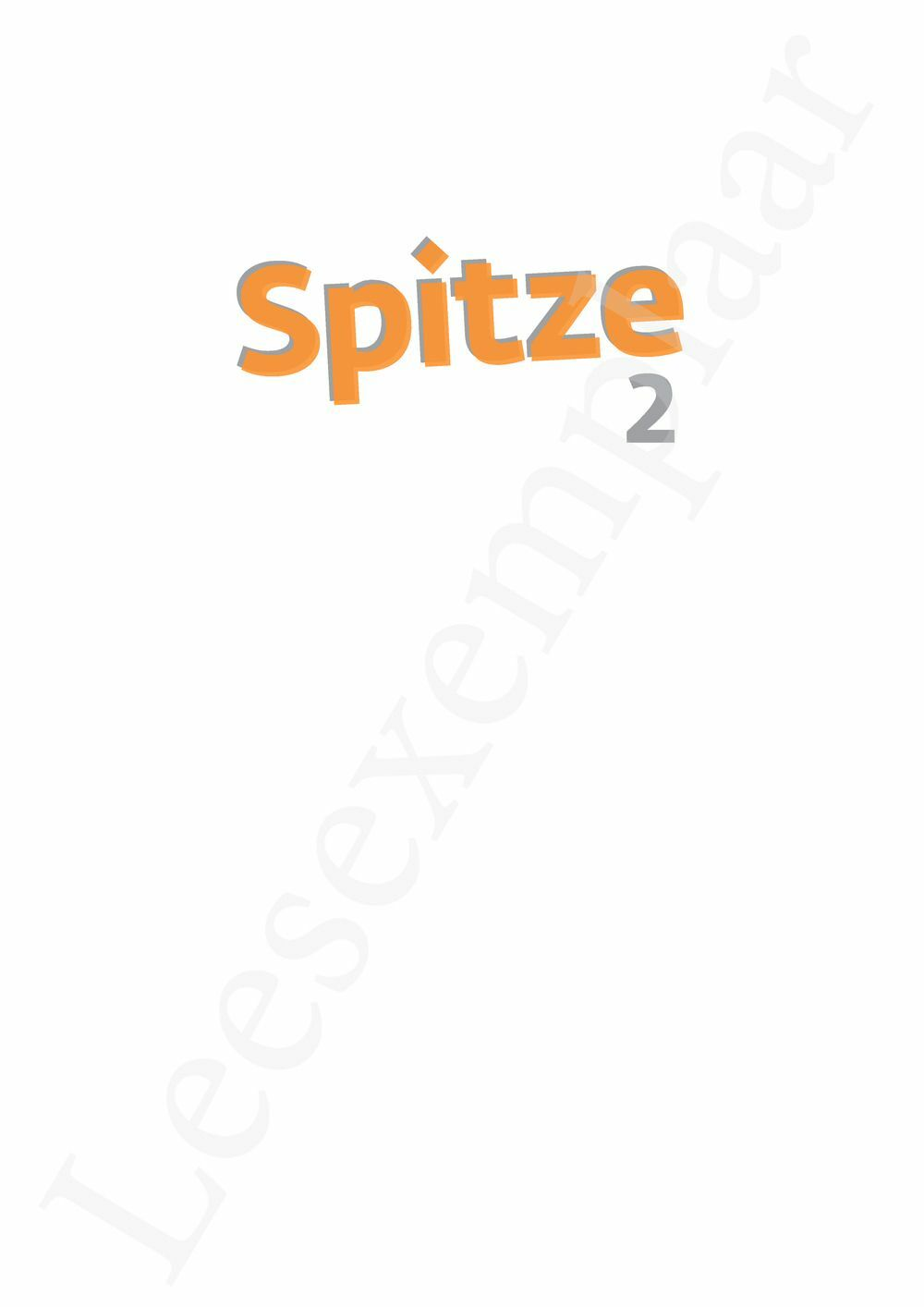 Preview: Spitze 2