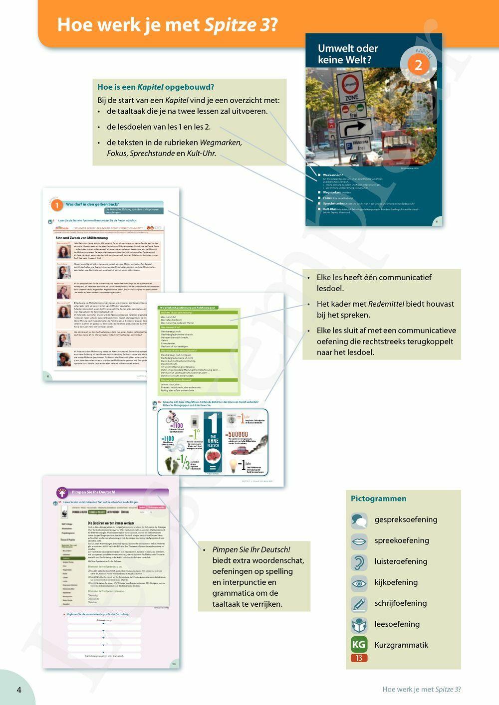 Preview: Spitze 3 leerwerkboek (inclusief Pelckmans Portaal)