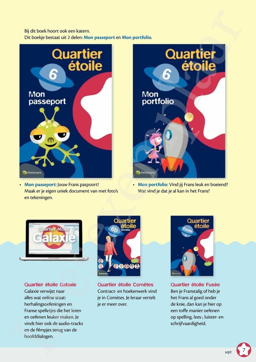 Preview: Quartier étoile 6B Leerwerkboek incl. online oefenmateriaal