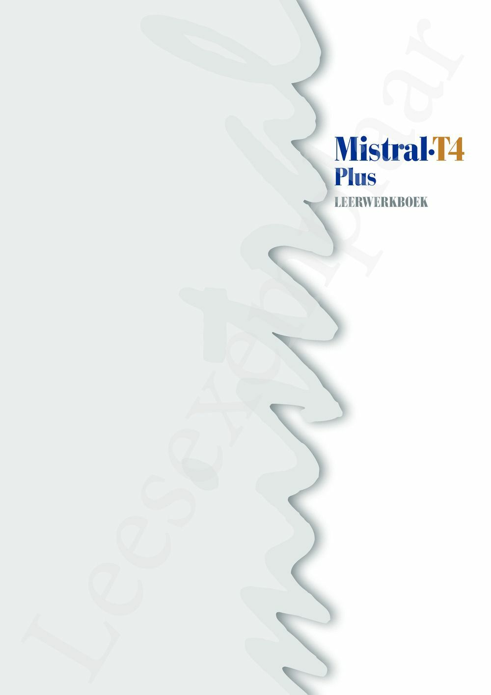 Preview: Mistral T4 Plus Leerwerkboek