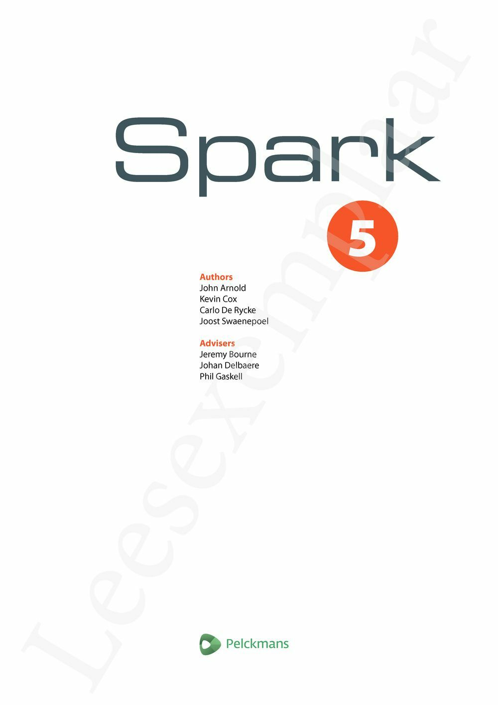 Preview: Spark 5 Leerwerkboek