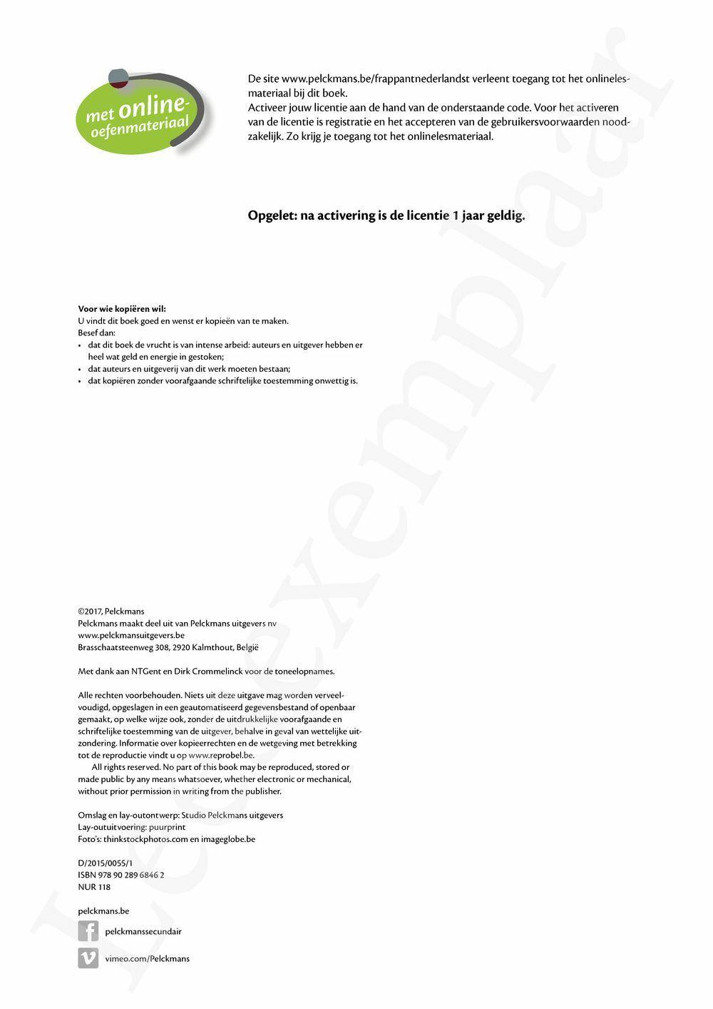 Preview: Frappant Nederlands T6 Leerwerkboek 3-4 uur
