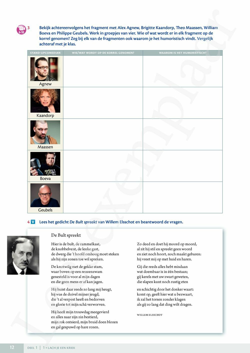 Preview: Frappant Nederlands T6 Leerwerkboek 3/4 uur