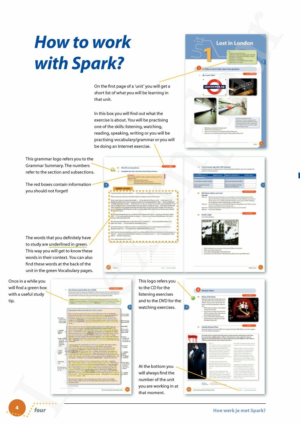 Preview: Spark 3 Leerwerkboek (incl. Spark Strategy Guide)