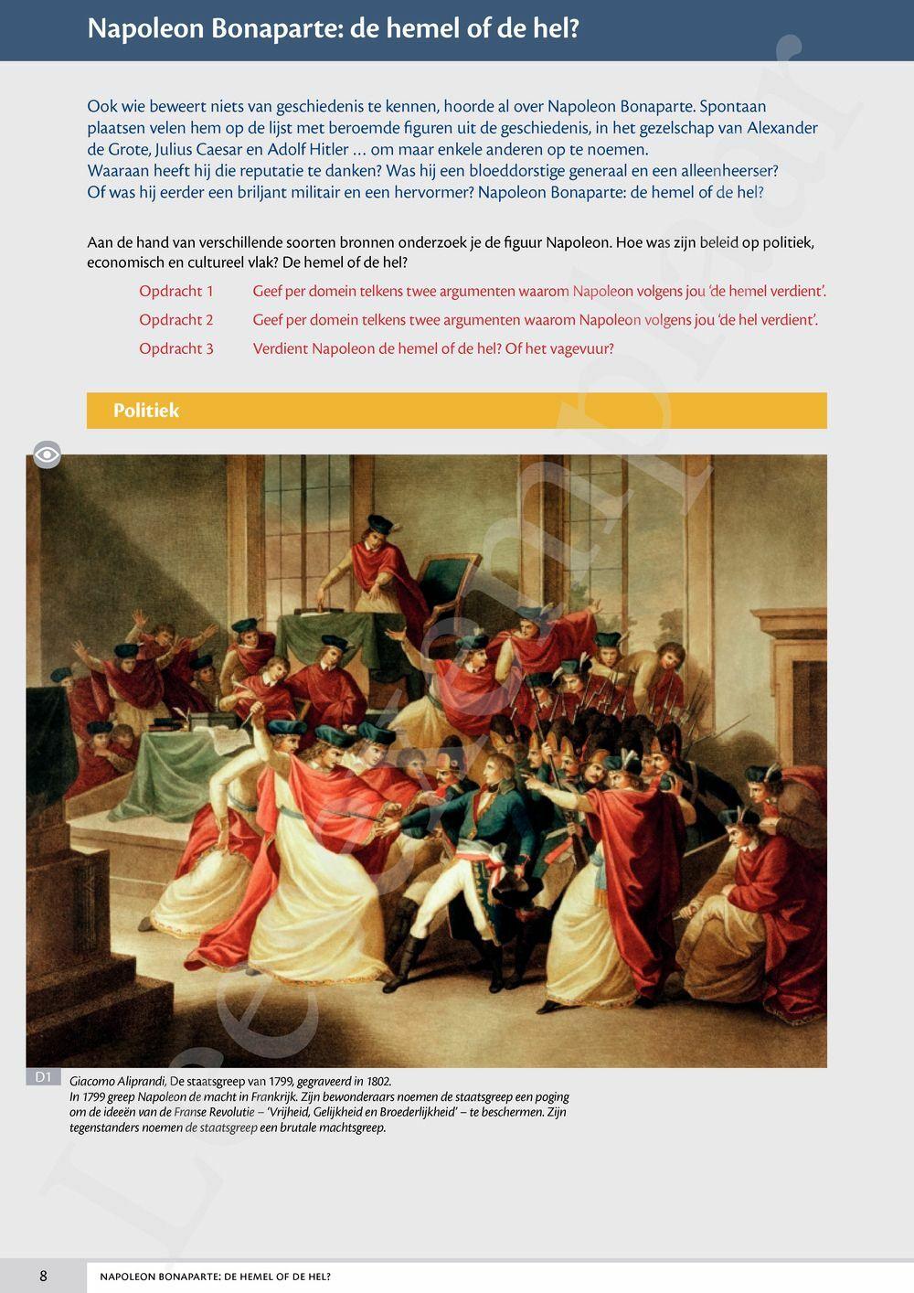 Preview: Memoria concreet 5 Leerwerkboek (incl. Historische verhalen)
