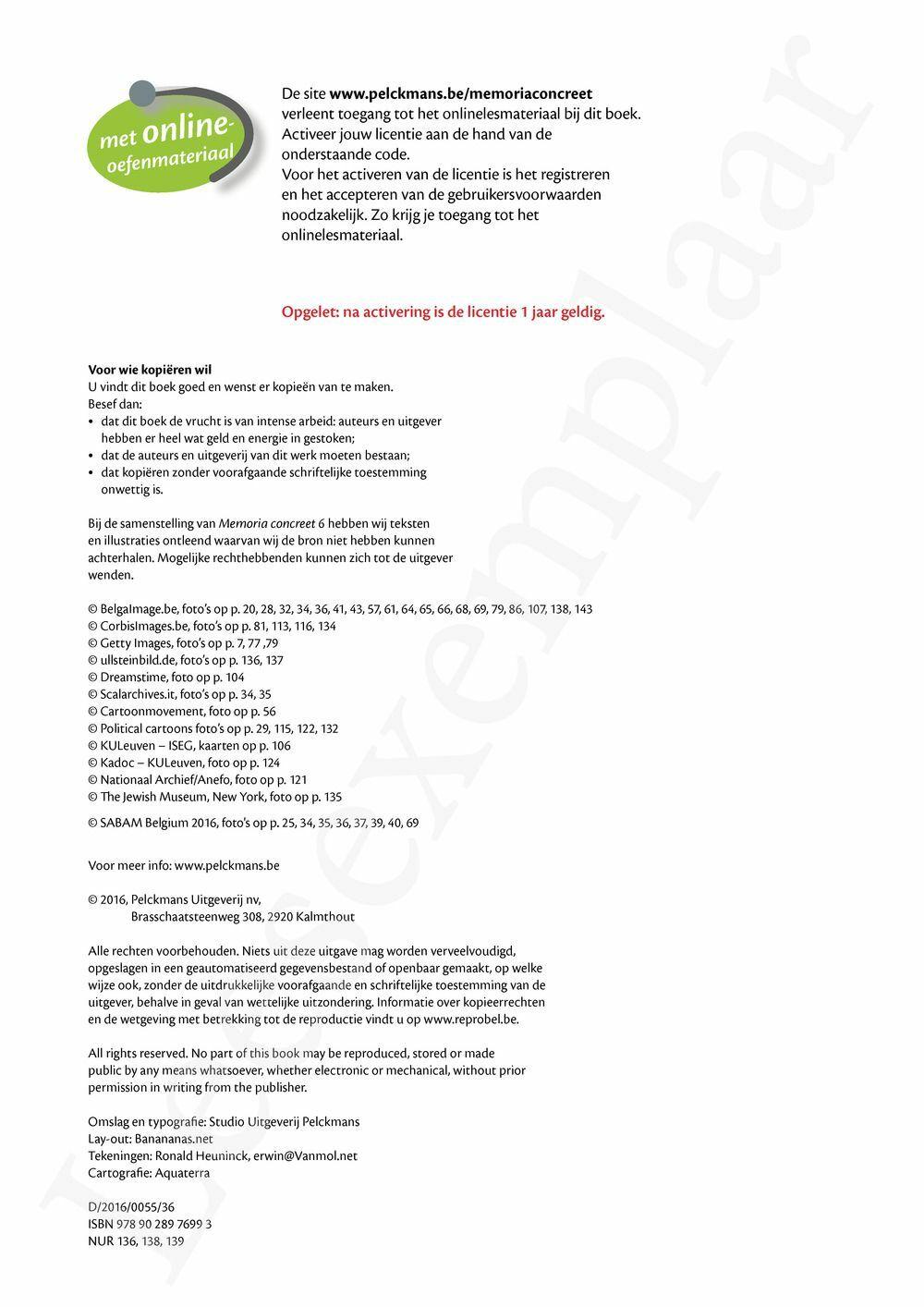 Preview: Memoria concreet 6 Leerwerkboek (inclusief Historische verhalen)