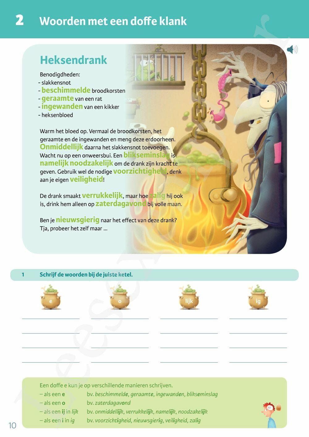 Preview: Iedereen spelt 5a Leerwerkboek