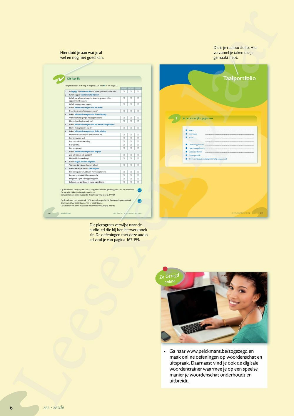 Preview: Zo gezegd 1.2 Waystage mondeling leerwerkboek incl audio-cd voor de cursist