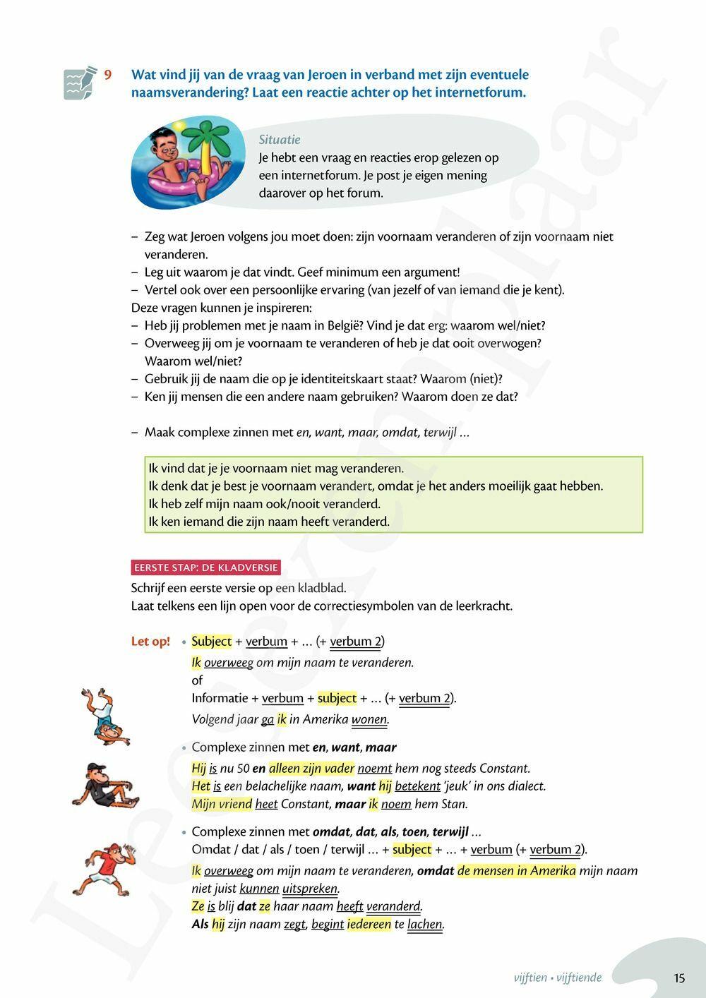Preview: Zo gezegd 2.3 Threshold 3 schriftelijk persoonlijk Leerwerkboek