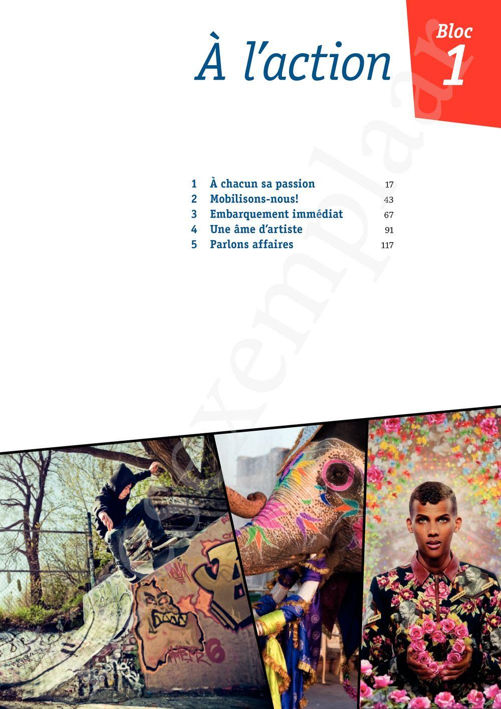 Preview: Quartier français 5 Livre de l'élève