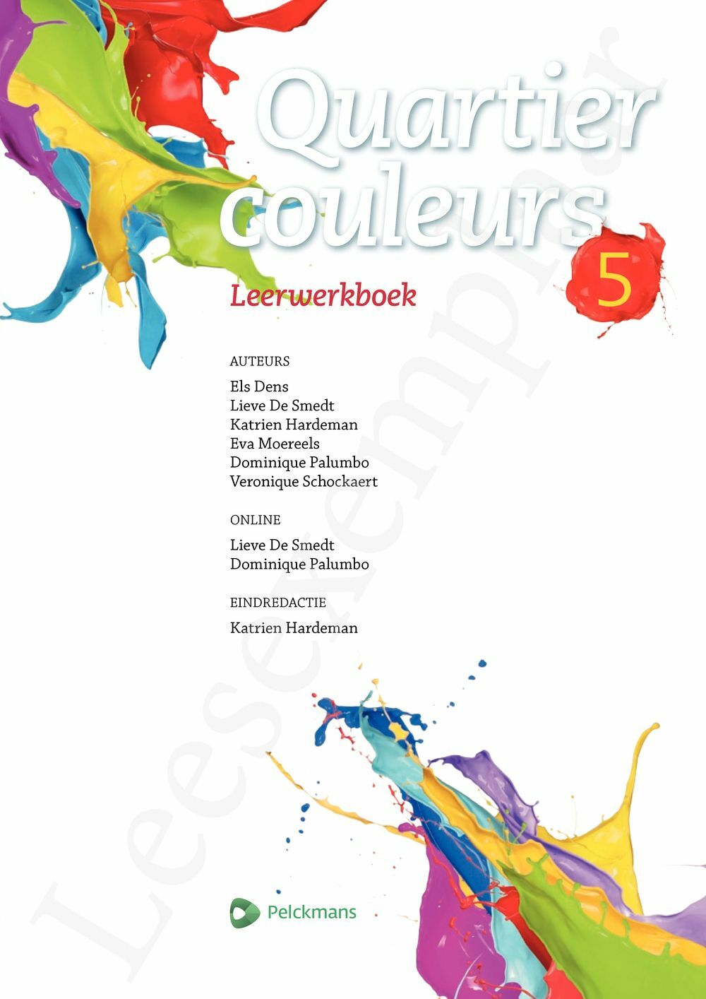 Preview: Quartier couleurs 5 leerwerkboek