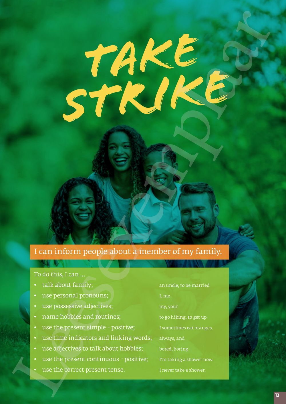Preview: Strike 1 leerwerkboek