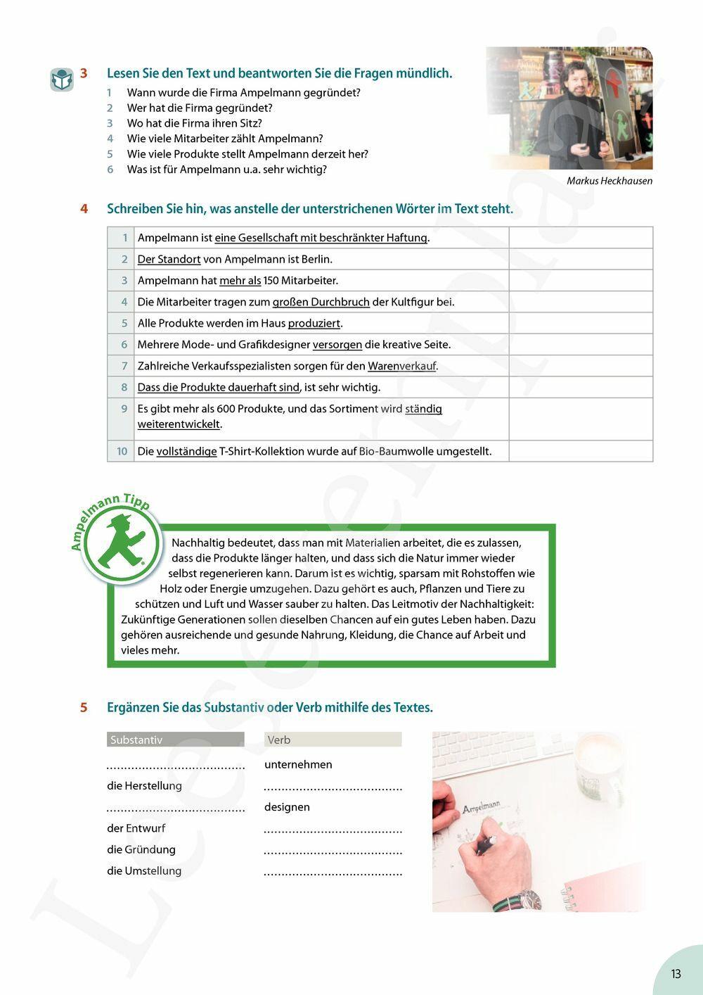 Preview: Spitze im Beruf leerwerkboek (inclusief Pelckmans Portaal)