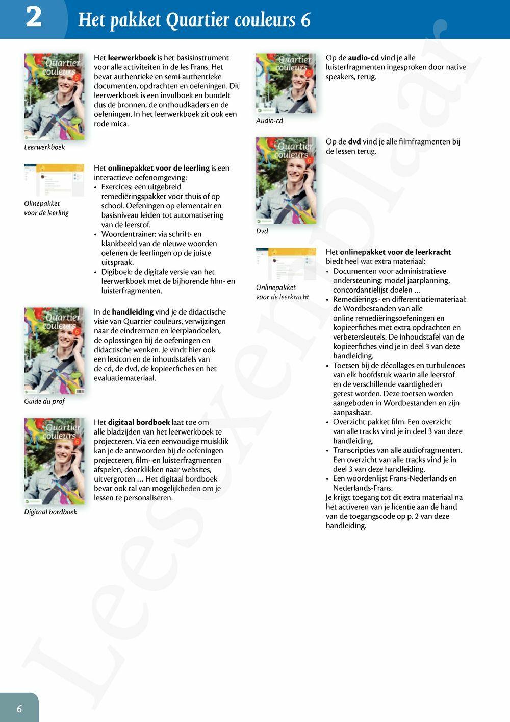 Preview: Quartier couleurs 6 Handleiding