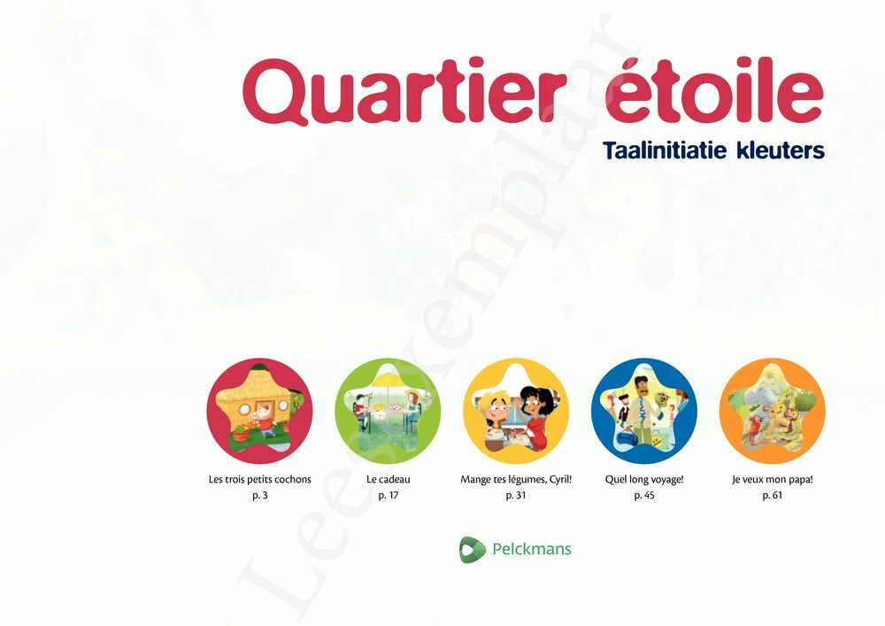 Preview: Quartier étoile prentenboek (incl. audio-cd)
