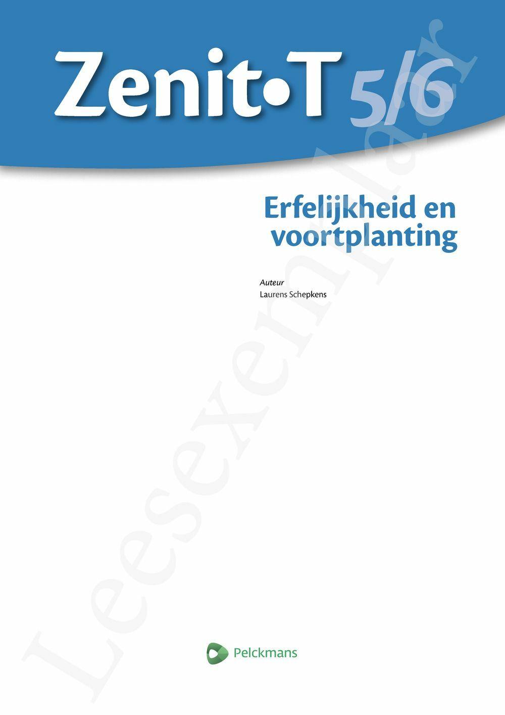 Preview: Zenit T5/6 Erfelijkheid en voortplanting tso-kso