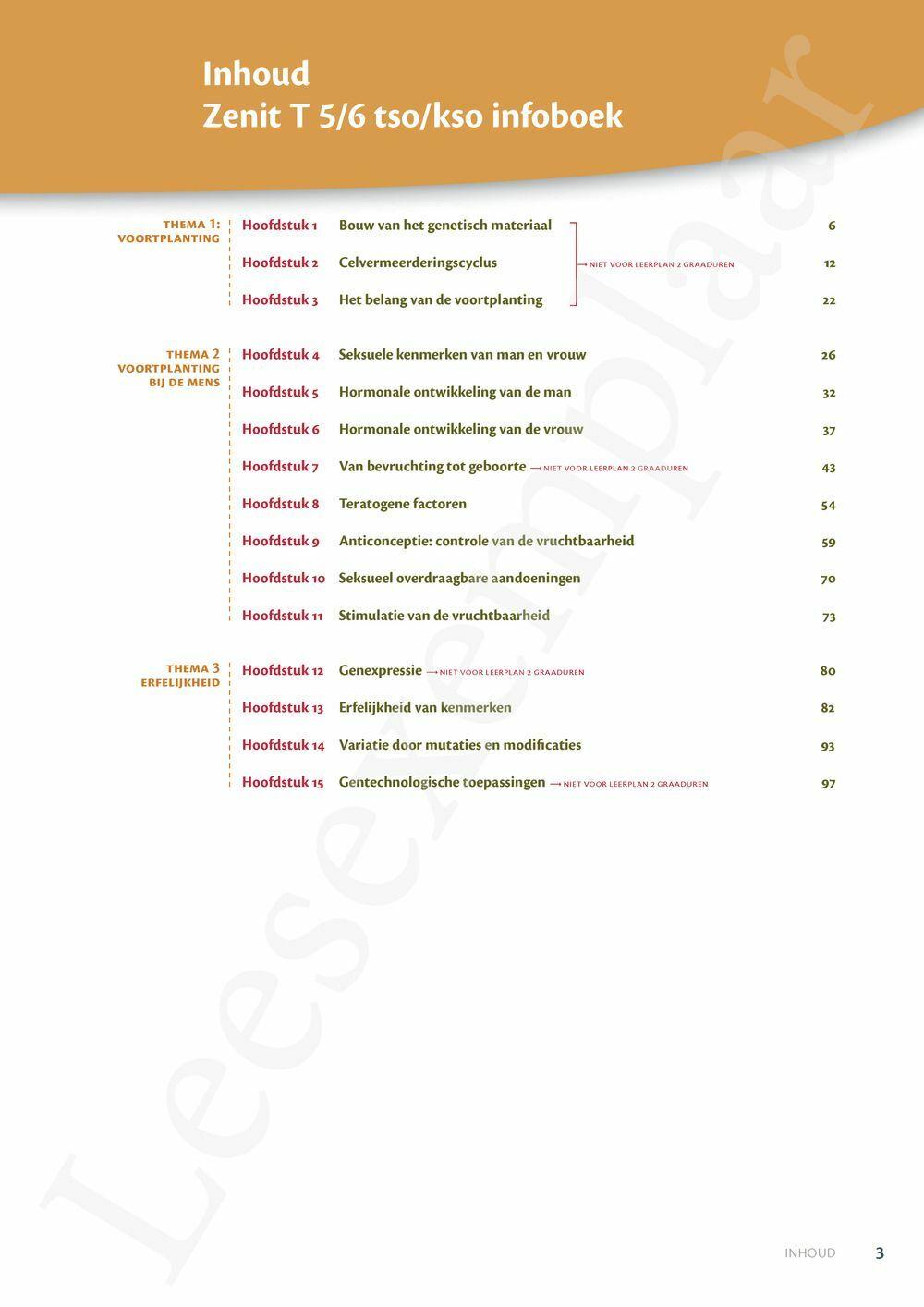 Preview: Zenit T5/6 tso-kso Erfelijkheid en voortplanting leerboek (inclusief Pelckmans Portaal)