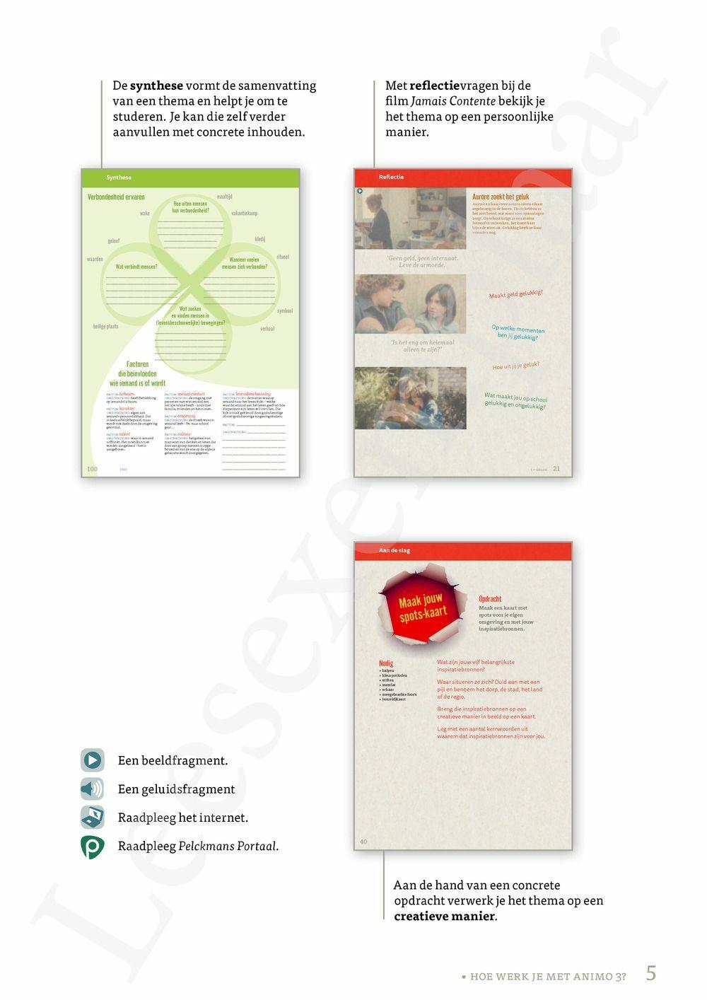 Preview: Animo 3 leerwerkboek (actualisatie leerplan) (inclusief Pelckmans Portaal)