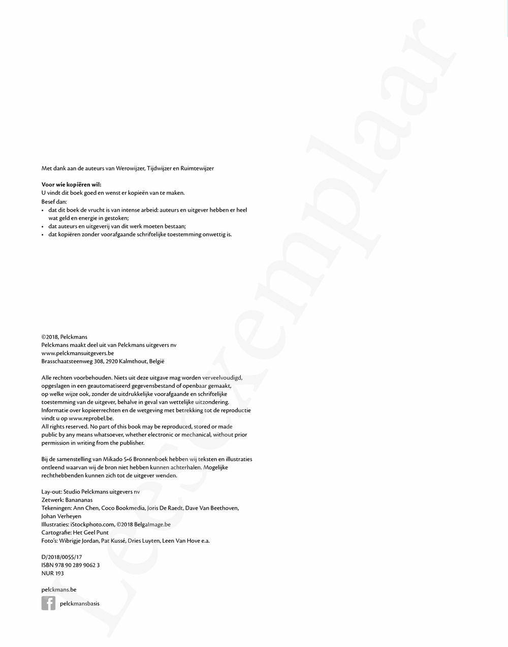 Preview: Mikado 5/6 Bronnenboek (editie 2018)
