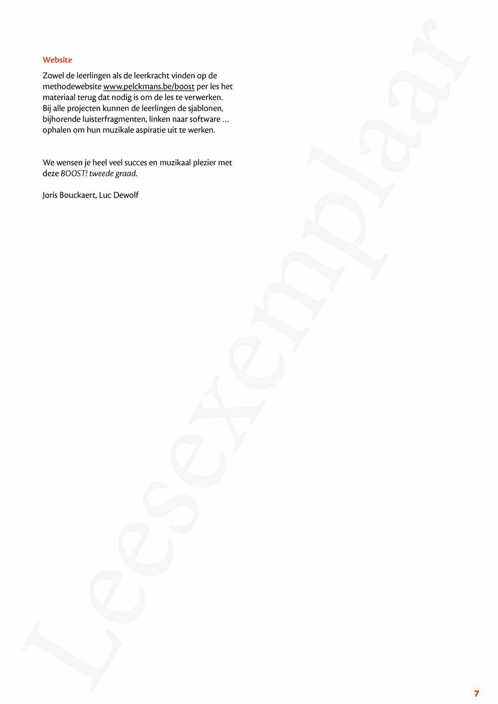 Preview: Boost! tweede graad Handleiding (2018)