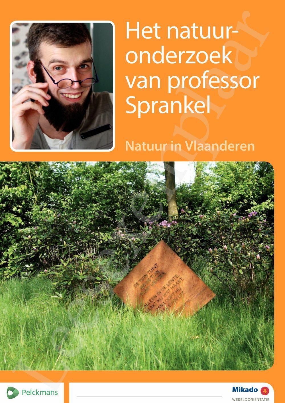 Preview: Mikado 4 Thema Het natuuronderzoek van Professor Sprankel (editie 2018)