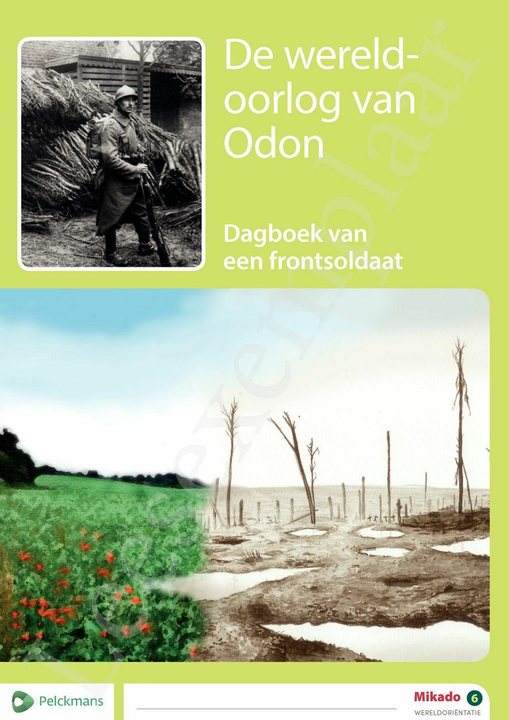 Preview: Mikado 6 Thema De wereldoorlog van Odon (editie 2018)