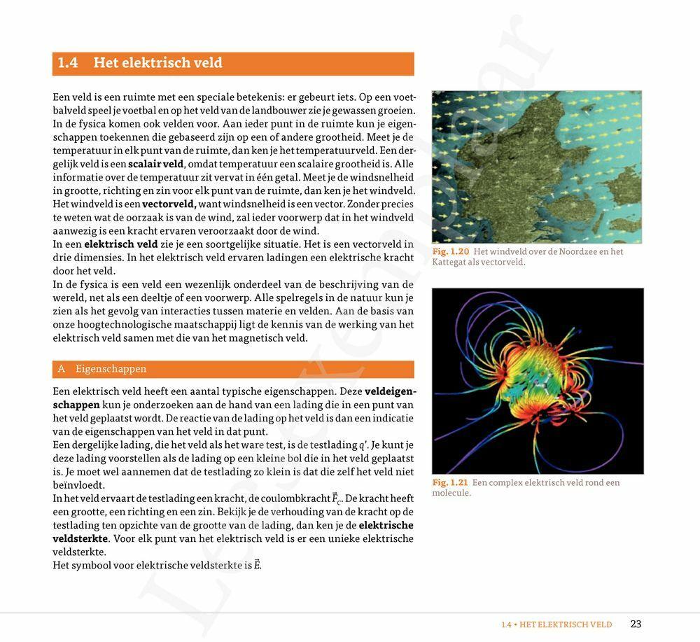 Preview: Fysica Vandaag 5.1 leerboek