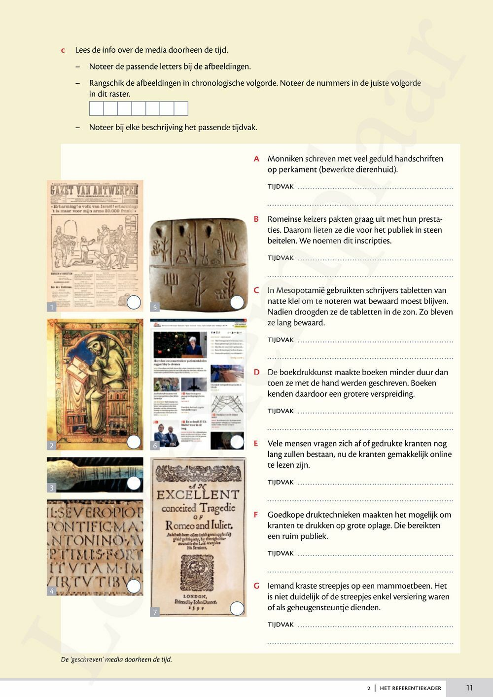 Preview: Memoria 1 werkboek (inclusief Pelckmans Portaal)