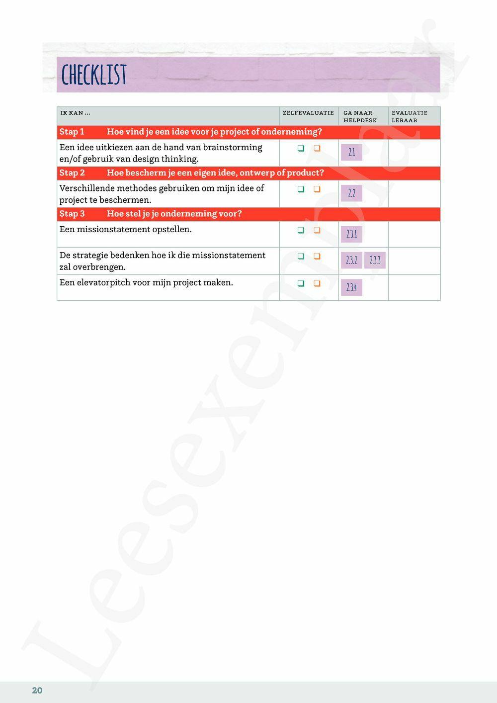 Preview: Ondernemend project - Ondernemerschap leerwerkboek (inclusief Pelckmans Portaal)