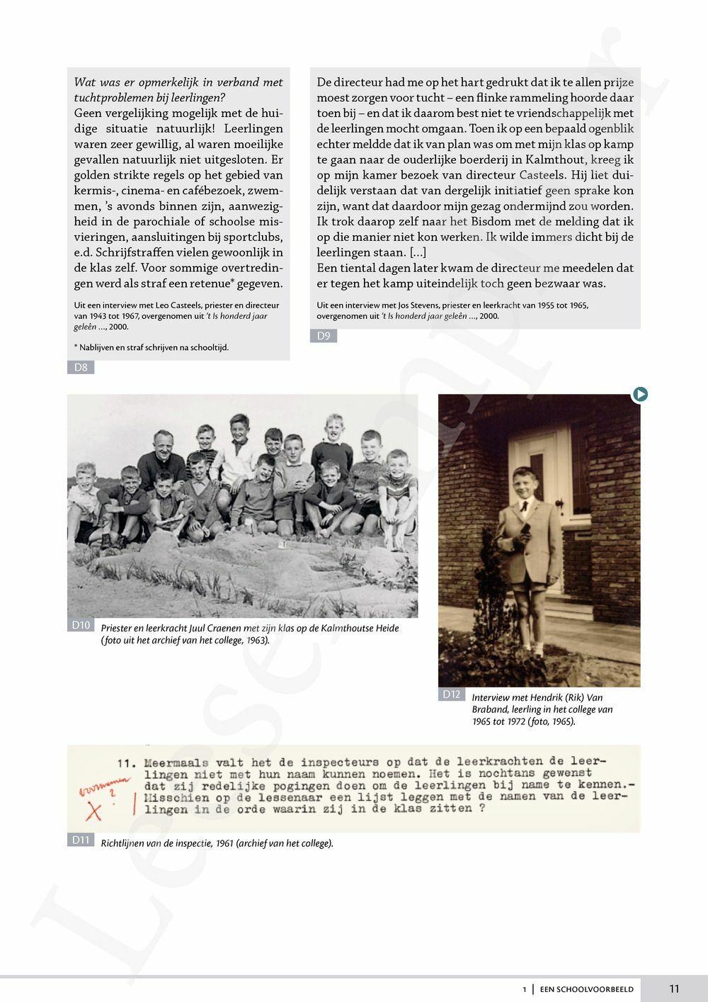 Preview: Memoria 1 leerwerkboek (editie 2019) (inclusief Relaas en Pelckmans Portaal)