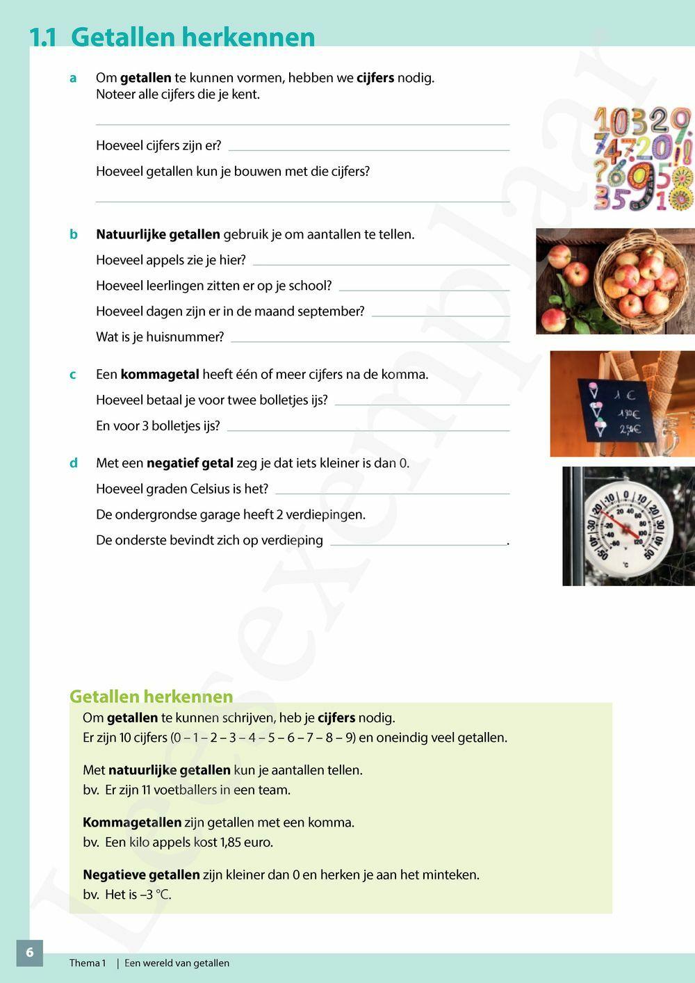 Preview: Wiskunde Concreet 1 leerwerkboek (inclusief Pelckmans Portaal)