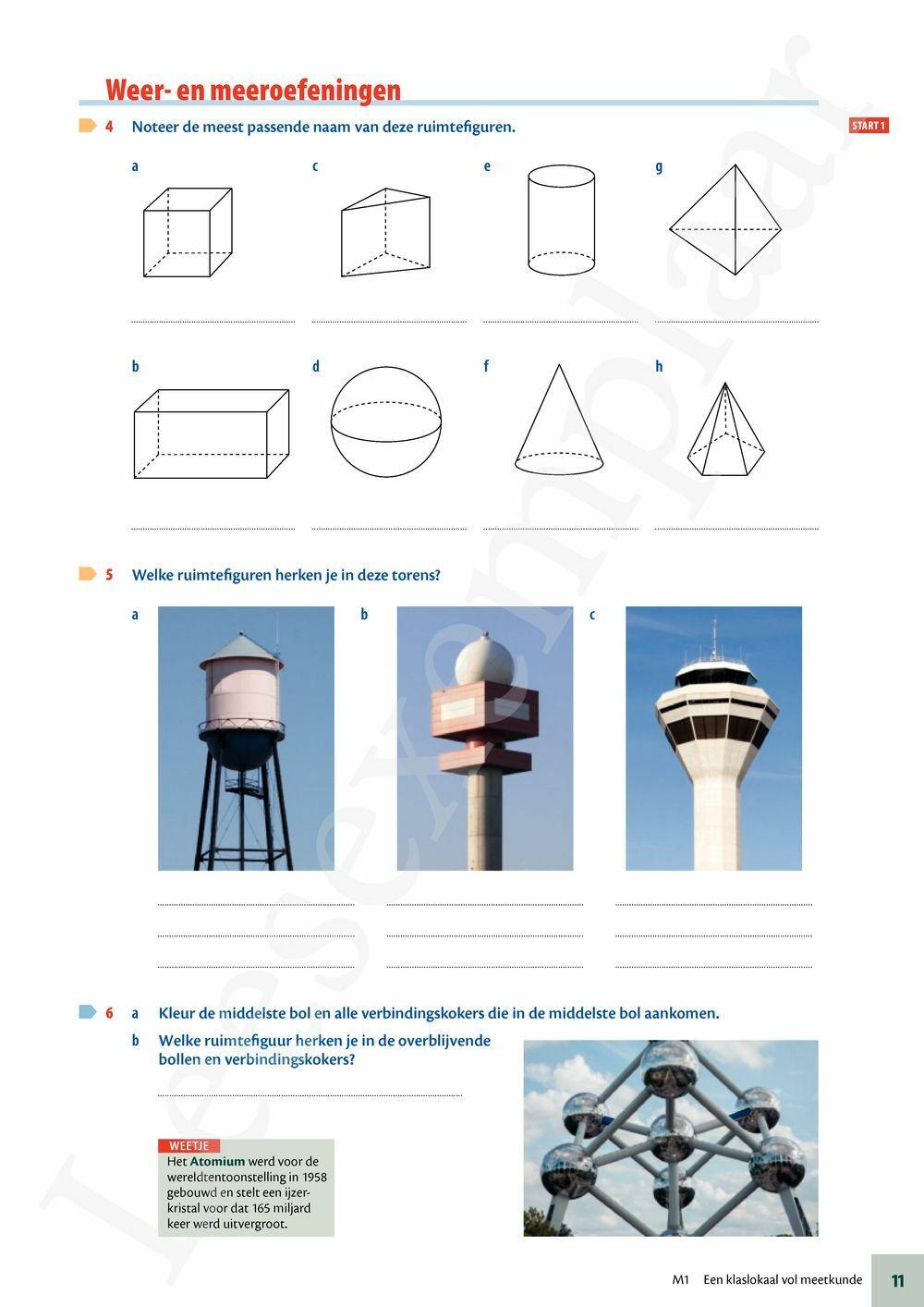 Preview: Matrix Wiskunde 1 meetkunde leerwerkboek (editie 2019) (inclusief Pelckmans Portaal)