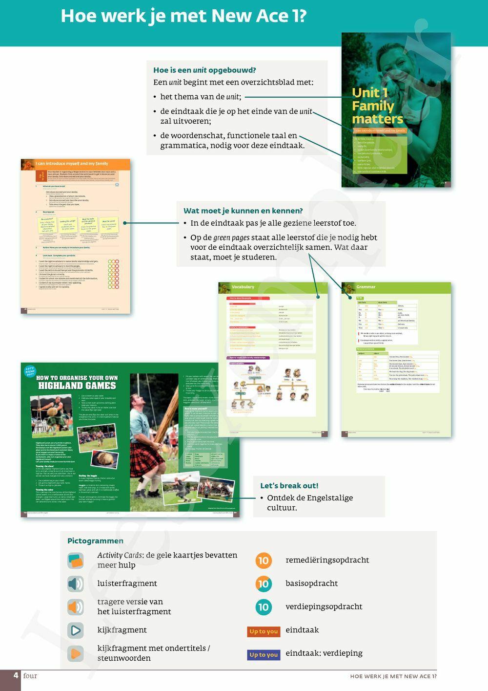 Preview: New Ace 1.2 leerwerkboek (inclusief Pelckmans Portaal)