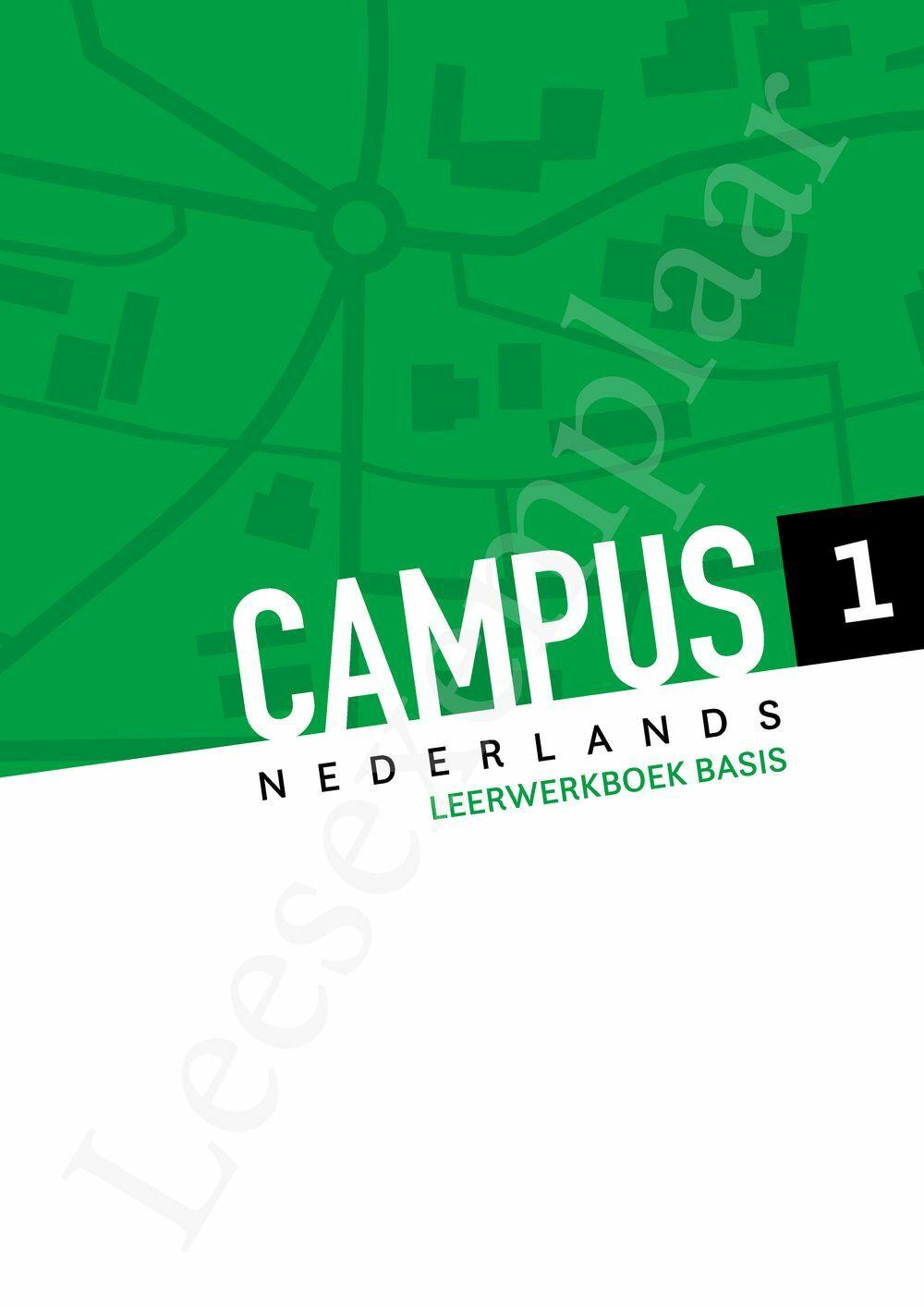 Preview: Campus Nederlands 1 leerwerkboek basis (inclusief Pelckmans Portaal)