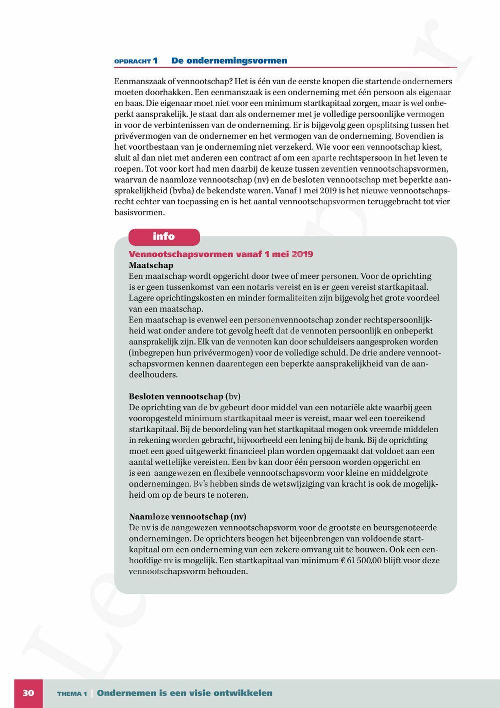 Preview: Economix 5/6 Bedrijfseconomie leerwerkboek (update 2019) (inclusief Pelckmans Portaal)