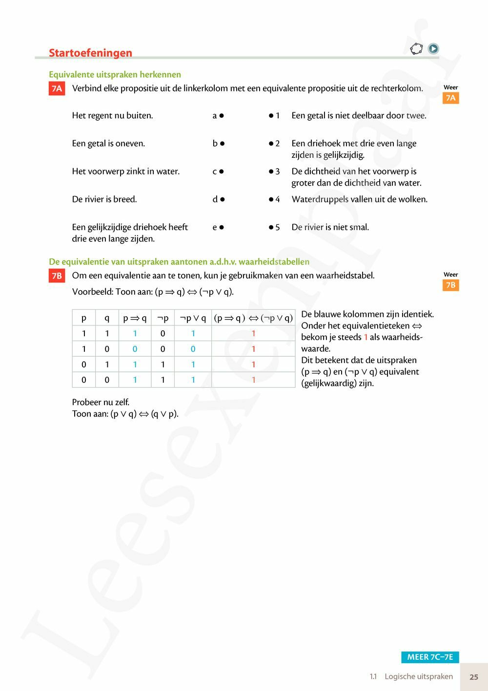 Preview: Matrix Wiskunde 3.4-5 Leerwerkboek A Logica - Getallen - Algebra - Functies (inclusief Pelckmans Portaal)