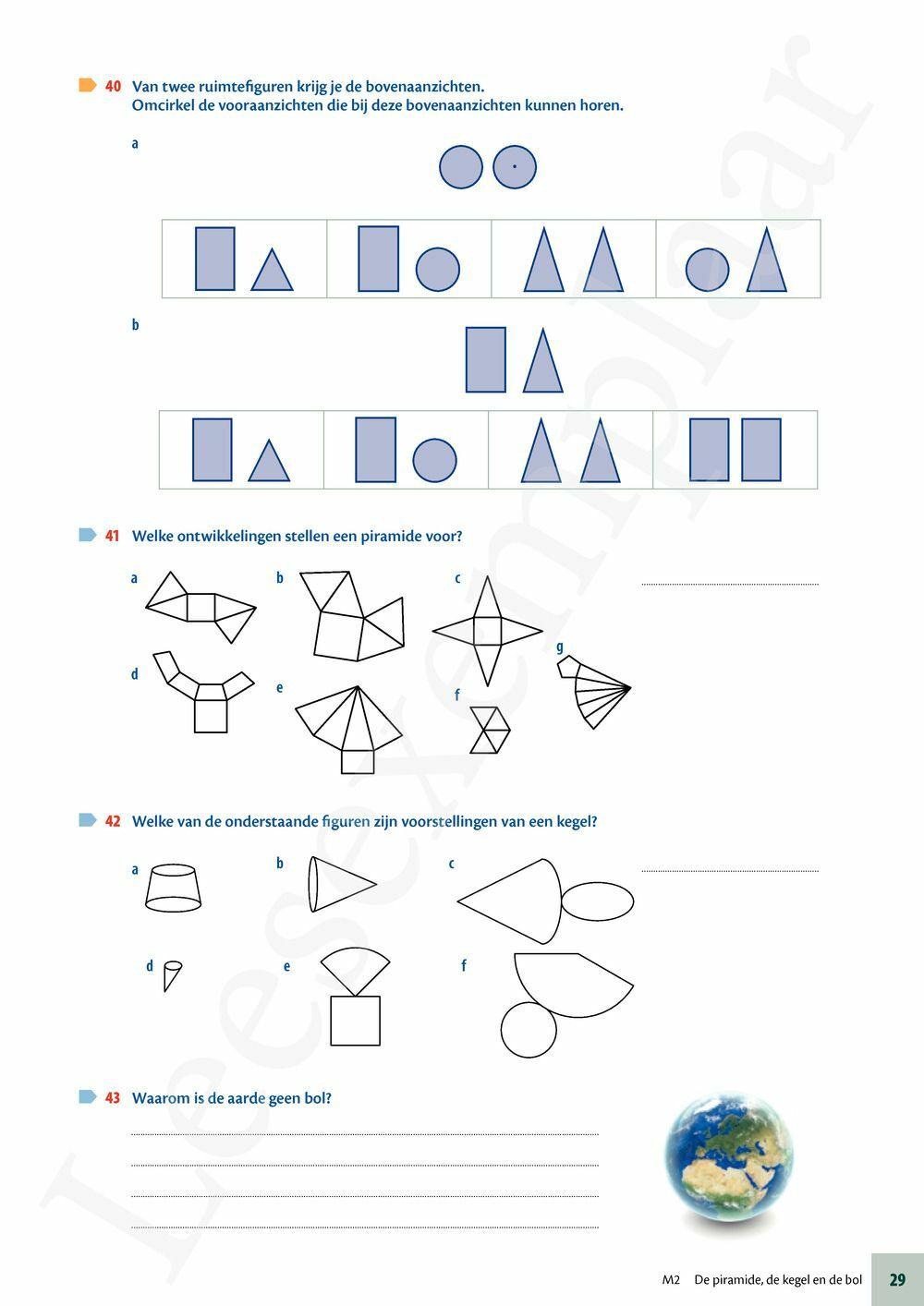 Preview: Matrix Wiskunde 2 meetkunde leerwerkboek (editie 2020) (incl Portaal)