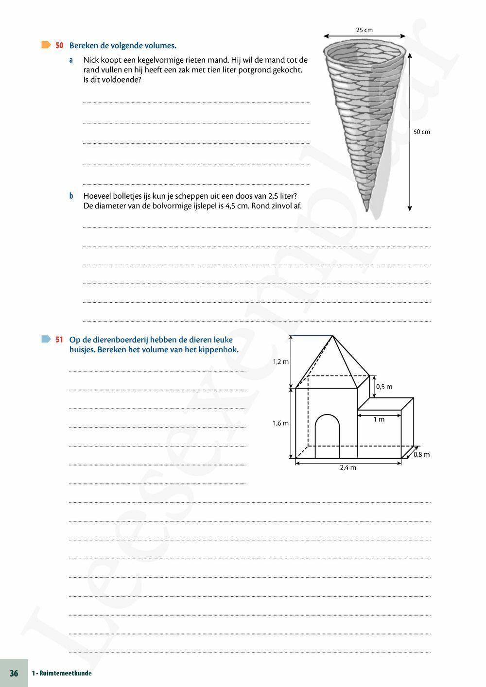 Preview: Matrix Wiskunde 2 Meetkunde Leerwerkboek (inclusief Pelckmans Portaal)