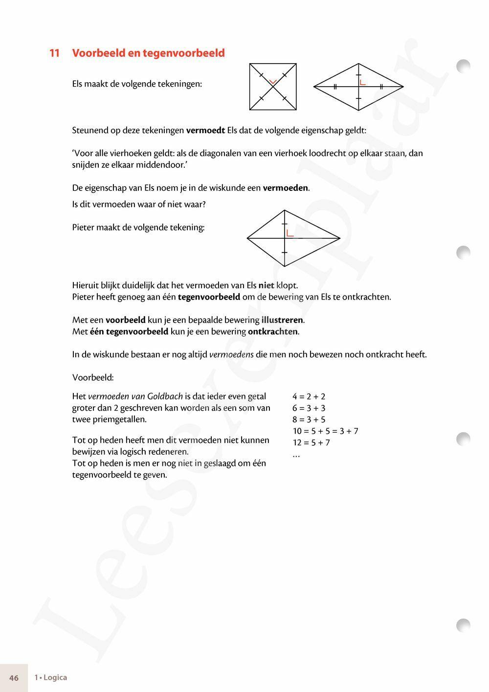 Preview: Matrix Wiskunde 3.5 Leerwerkboek A Logica - Getallen - Algebra - Functies (inclusief Pelckmans Portaal)