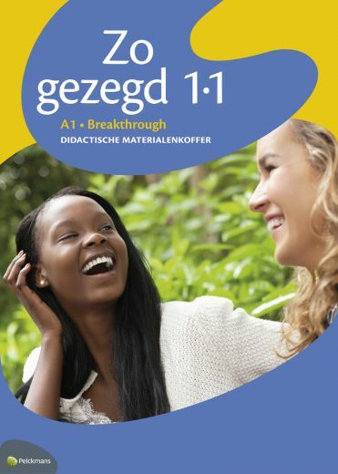 Zo gezegd 1.1 Breakthrough didactische materialenkoffer
