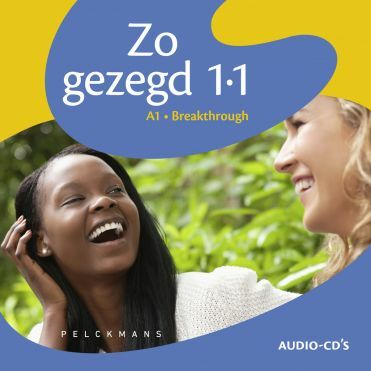Zo gezegd 1.1 Breakthrough audio-cd's