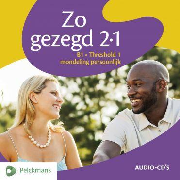 Zo gezegd 2.1 Threshold 1 mondeling persoonlijk: Audio-cd's