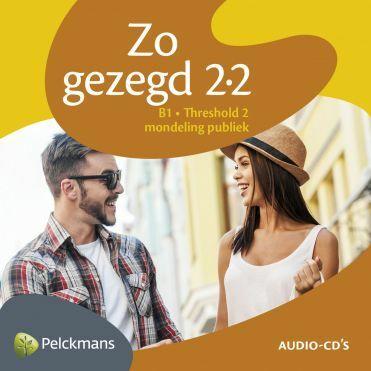 Zo gezegd 2.2 Threshold 2 mondeling publiek: Audio-cd