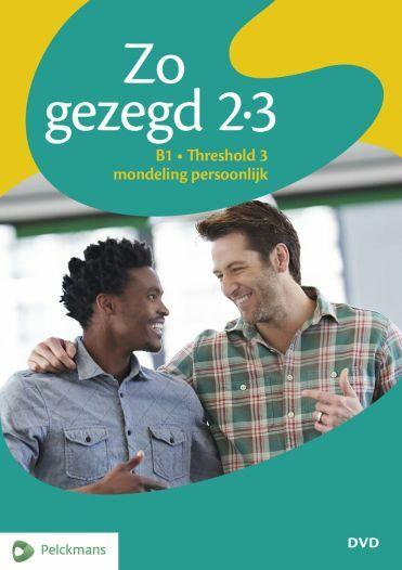 Zo gezegd 2.3 Threshold 3 mondeling persoonlijk: Dvd