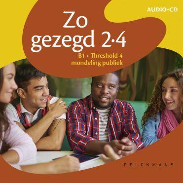 Zo gezegd 2.4 Threshold 4 mondeling publiek audio-cd