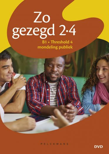 Zo gezegd 2.4 Threshold 4 mondeling publiek Dvd