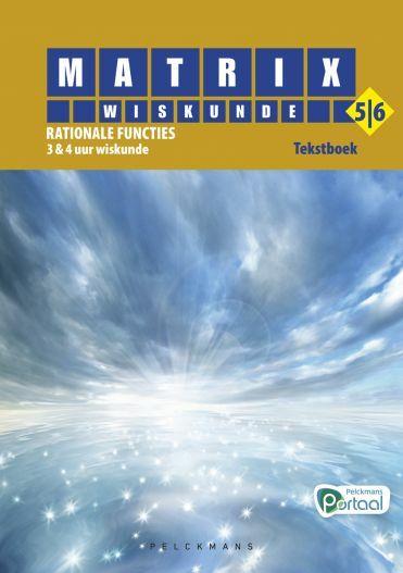Matrix Wiskunde 5/6 Rationale functies 3 & 4 uur wiskunde Tekstboek